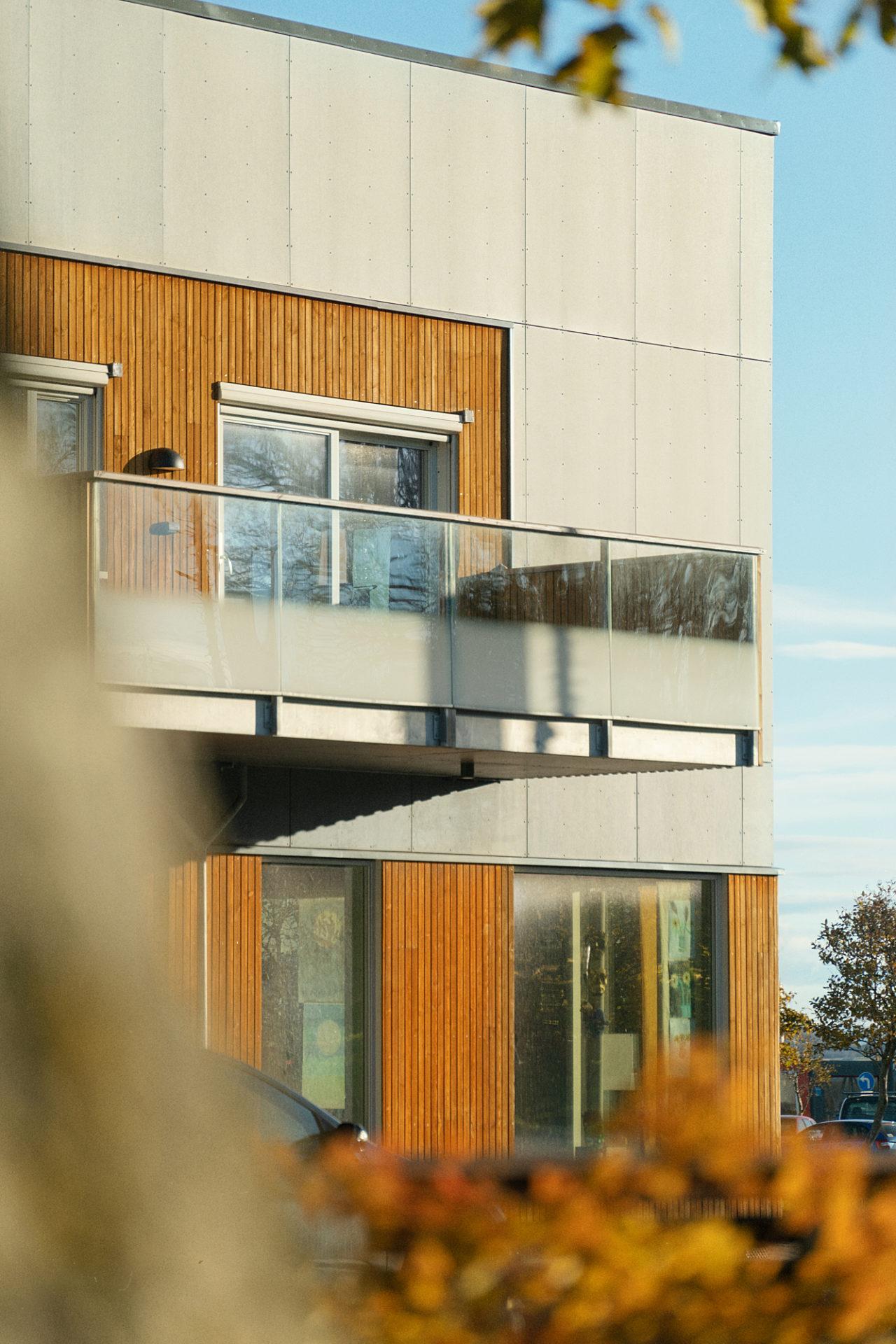 Kystgården - balkong