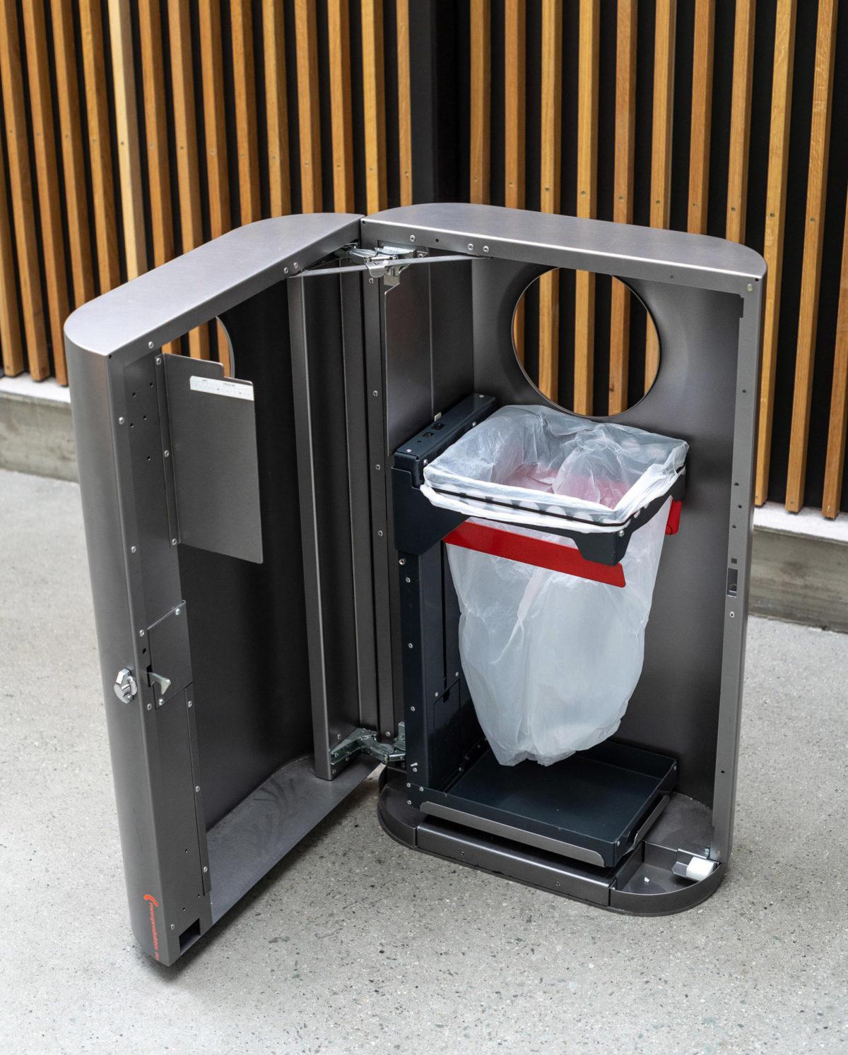 Prosjekt - roros produkter smart avfall komprimator 9868b