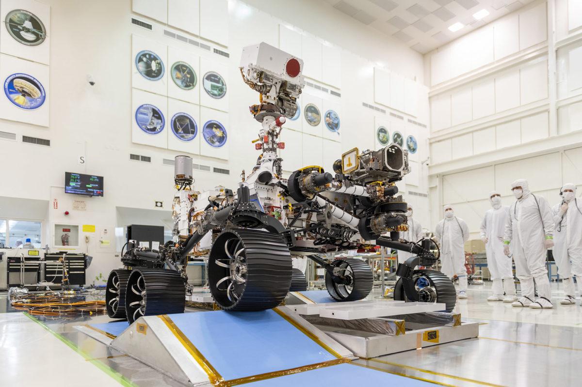 P mars 2020 rover 05 lab