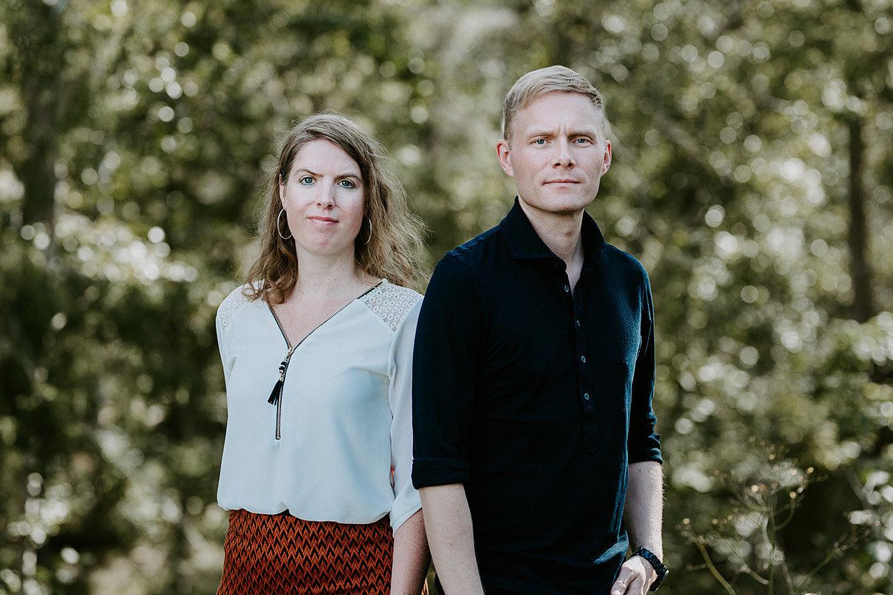 Jørgen Karlstrøm og Stine Sørlie foto Renate Madsen NKF 20200829 08